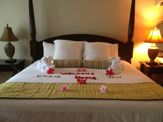 Sandals Montego Bay:                   A nice surprise when we arrived