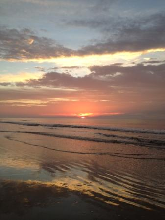 Topsail Island, Carolina del Norte: sunrise at Topsail