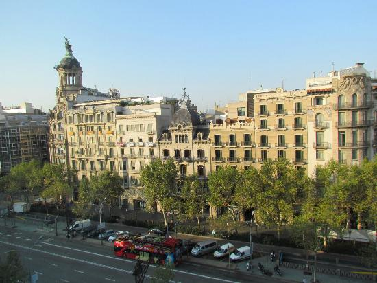 Mandarin Oriental, Barcelona: View from our Hotel Room
