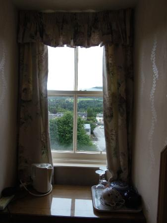 Craigroyston House and Lodge: Tea cups, and a view