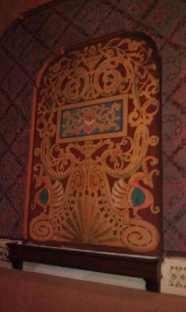Panida Theatre: Interesting Hand Painted Filigree