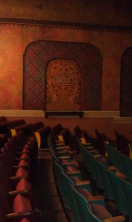 Panida Theatre: Elegant Aisles and Seats