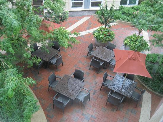 Battery Wharf Hotel, Boston Waterfront: View from 2nd floor room 5210