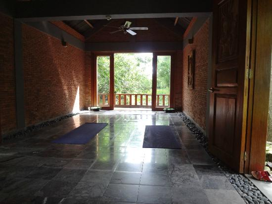 Pilgrimage Village: Tai Chi and Yoga room