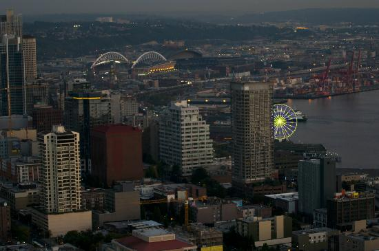 Space Needle: view from observation deck