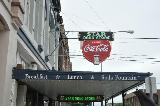 Star Drug Store sign