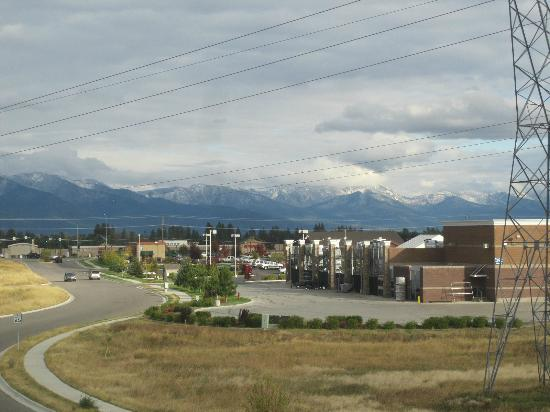Holiday Inn Express Hotel & Suites Kalispell: View from my room
