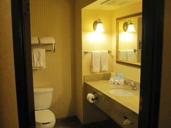 Holiday Inn Express Hotel & Suites Kalispell: Bathroom area