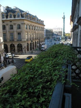 Park Hyatt Paris - Vendome: View from small balcony looking towards the Vendome