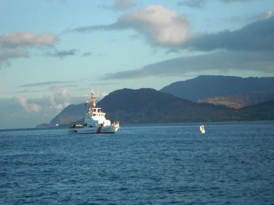 Ko Olina Ocean Adventures: Coast Guard Boat