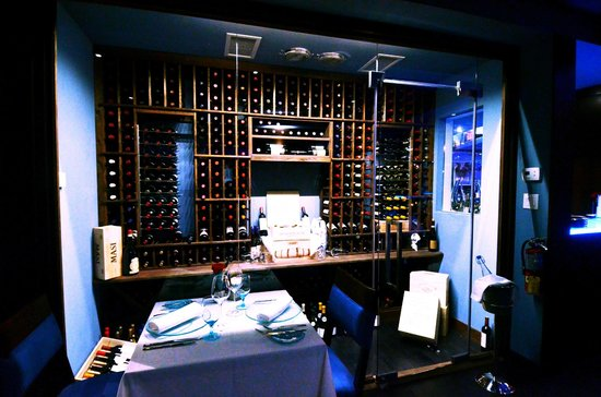 Blue Cilantro : Our Wine Cellar