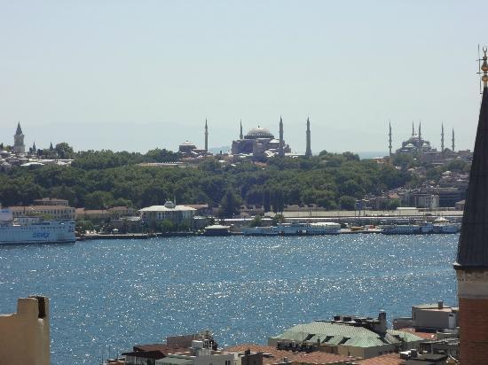 Witt Istanbul Suites: Hagia Sophia from Room #61