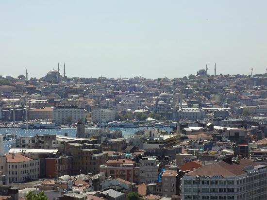 Witt Istanbul Suites: View from Room 61