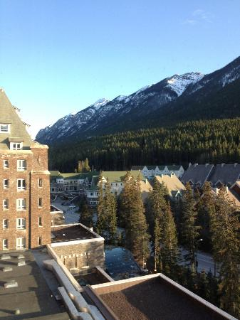 Fairmont Banff Springs: View from room