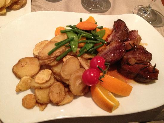 Georges Opera: Duck was perfectly cooked