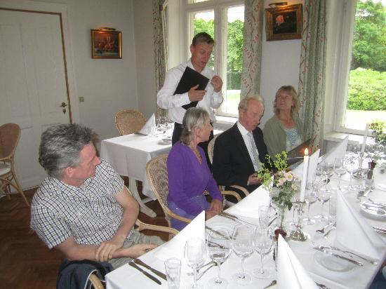 Havreholm Slot: Dining Room With Good Food and Great Service