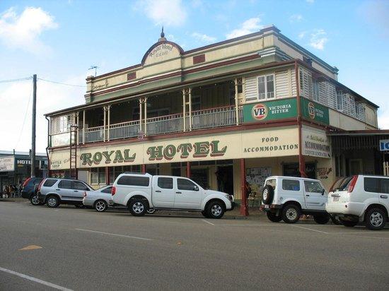 Royal Hotel Herberton: Streetview Royal Hotel, Herberton