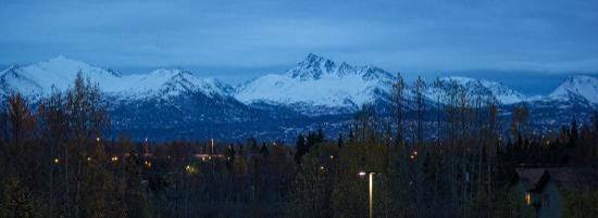 Holiday Inn Express Anchorage: View from my room!