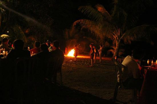 Tasik Ria Resort Manado: The beach side BBQ dinner