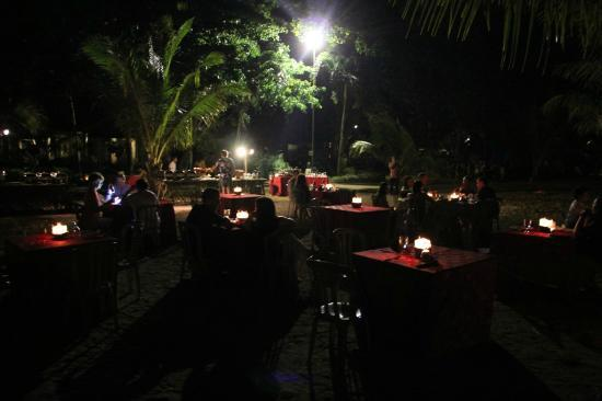 Tasik Ria Resort Manado: BBQ Dinner at Beach Side