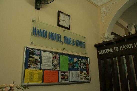 Hanoi Hostel: Lobby