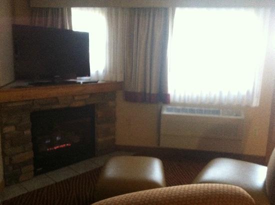 The Estes Park Resort: sitting area in living room