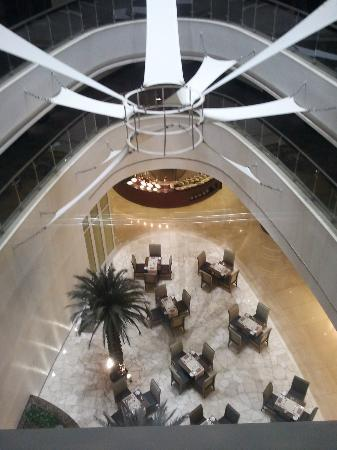 Crowne Plaza Doha - The Business Park: from the elevator
