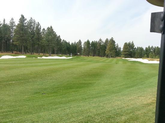 Wildstone Golf Course: View of the 9th hole