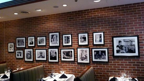 nice wall decor in the restaurant - picture of mickey mantle's