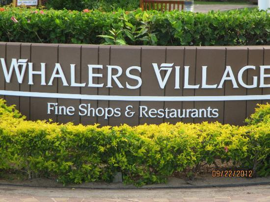 Westin Maui Resort And Spa : Whalers Village