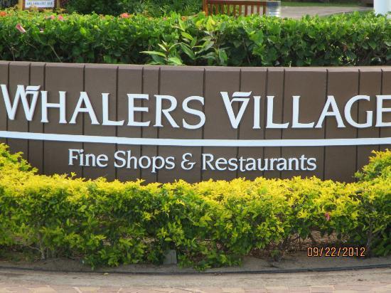 เวสทิน เมาวี รีสอร์ท แอนด์ สปา: Whalers Village