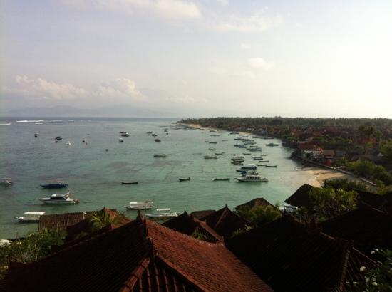Lembongan Reef Bungalow: view from family room