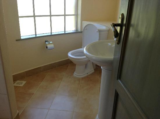 Tafaria Castle and Country Lodge: Clean bathroom
