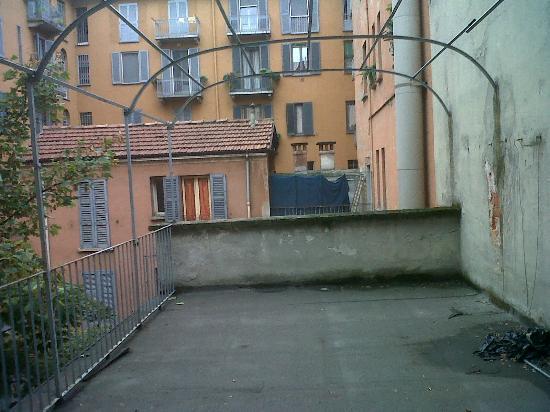 Hotel Brianza: terrazzo della stanza 210