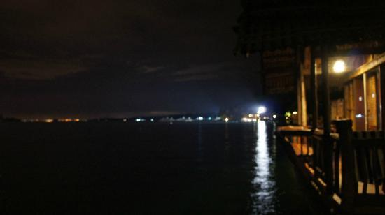 Pearl Farm Beach Resort: view at night