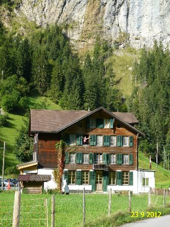 The Alpenhof: OUTSIDE VIEW OF ALPENHOF HOUSE IN STECHELBERG AS SEEN IN SEPTEMBER 2012.