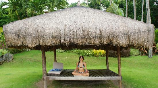 Pearl Farm Beach Resort: zen time in cabanas like these
