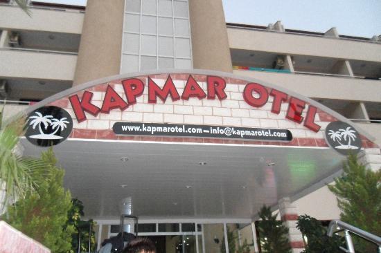 Kapmar Hotel : front of hotel