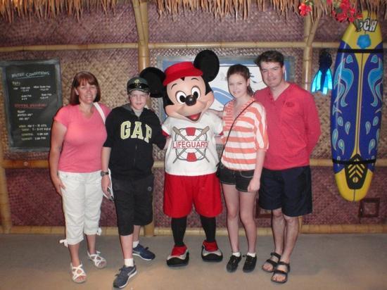 Disney's PCH Grill : hello Mickey