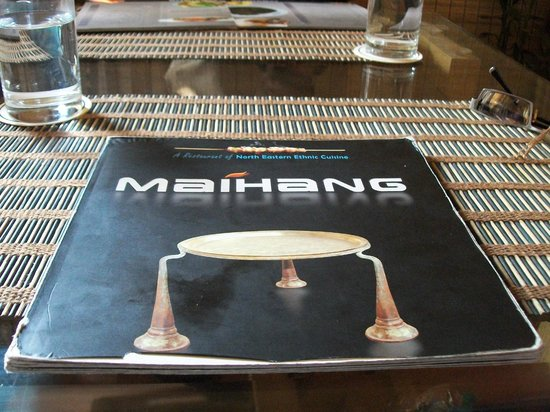 Maihang: The Menu