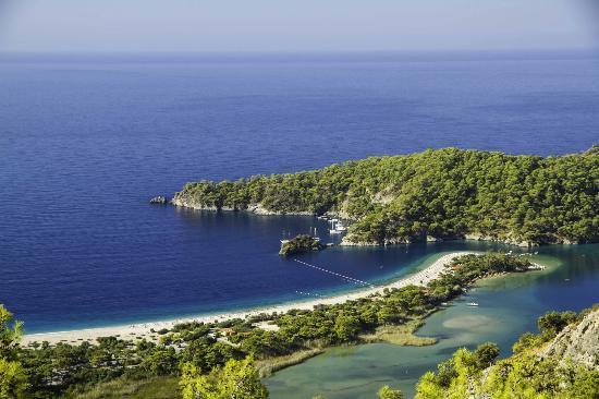 Strand von Ölüdeniz (Blaue Lagune): Un colirio para los los ojos...y sin retoque