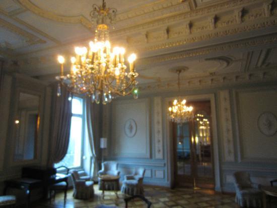 Grand Hotel Kronenhof : Aufenthaltsraum