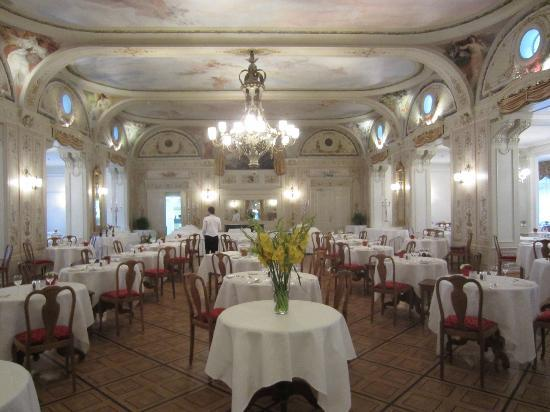 Grand Hotel Kronenhof : Speisesaal