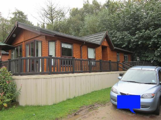 Beauport Holiday Park - Park Holidays UK: Lodge from front