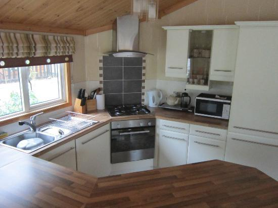 Beauport Holiday Park - Park Holidays UK: Kitchen area