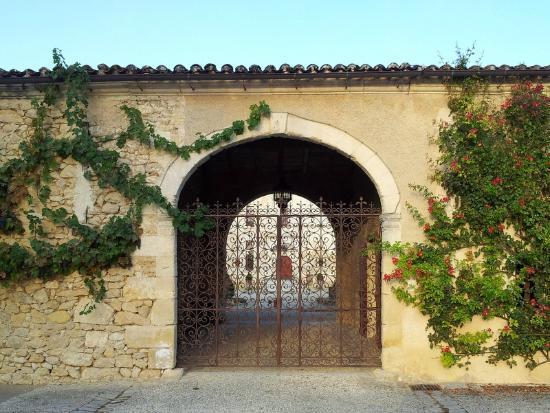Chateau de Castelneau: entrée