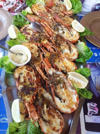 Sam's Restaurant : L'un des plats (pour 4) du menu à 250 dirhams