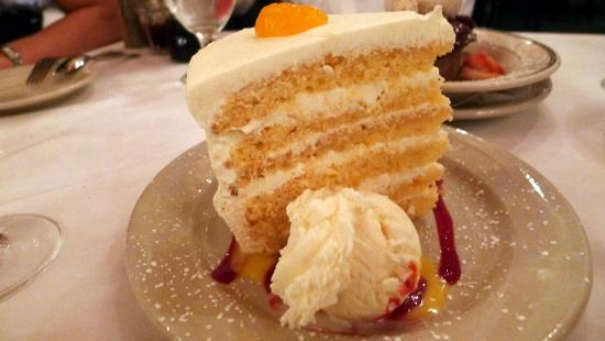 III Forks: Mandarin dessert at Three Forks