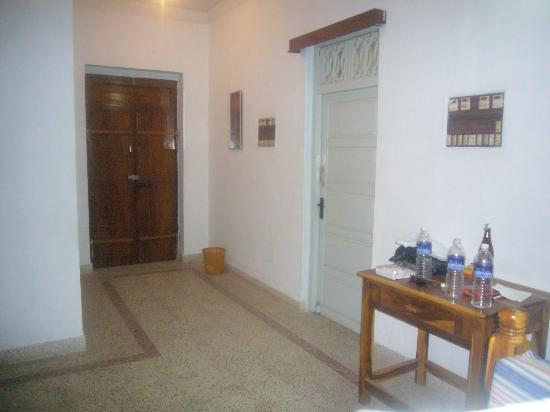 At Home Guest House: Doorway
