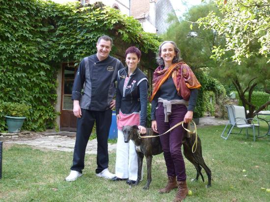 Auberge des Vieux Moulins Banaux: Nos Hôtes,Christophe et Priscilla